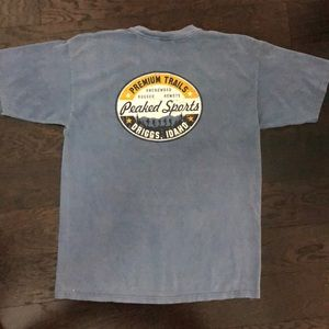 Comfort Colors Shirts - Comfort Colors garment dyed Peaked Sports T-shirt